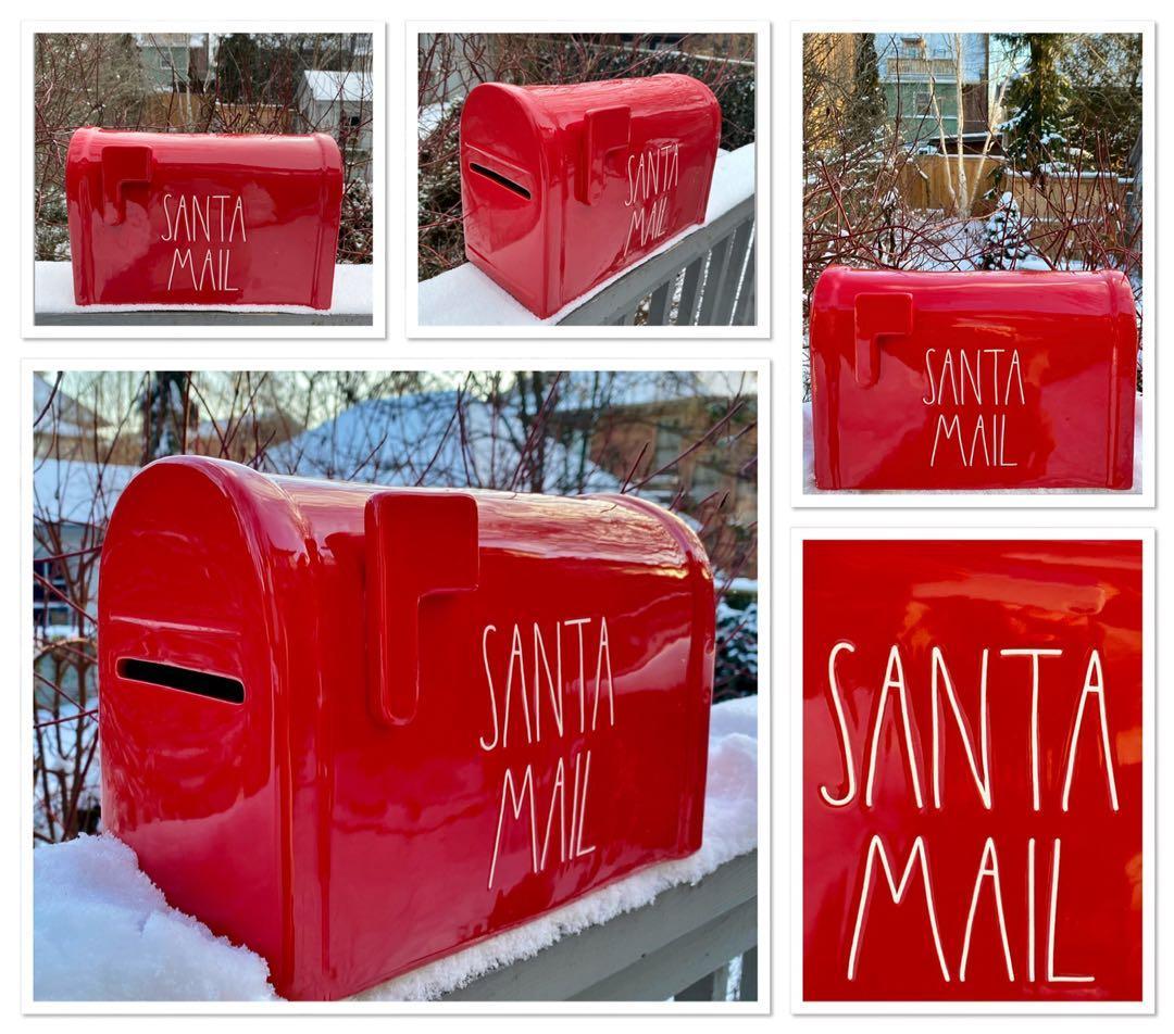 Rae Dunn Santa mail
