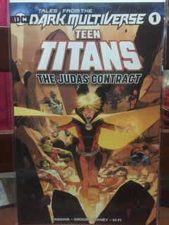 Tales from the Dark Multiverse: New Teen Titans: The Judas Contract