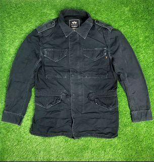 Vintage Alpha Industries Quilted Army M65 Field Jacket