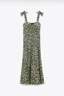 Zara Printed Floral Dress