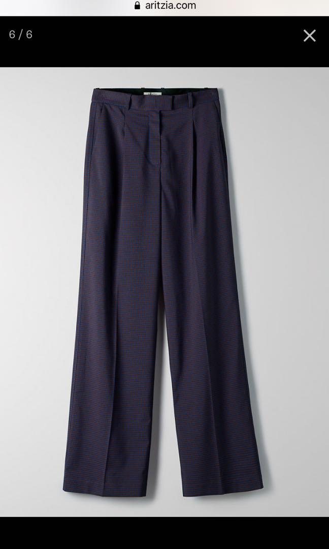 #Aritzia #Babaton Sadiki pants, checkered, Size 10