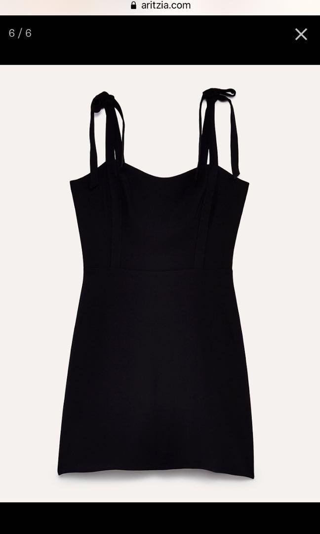 #Aritzia Sunday's best dress, Black, Size 6