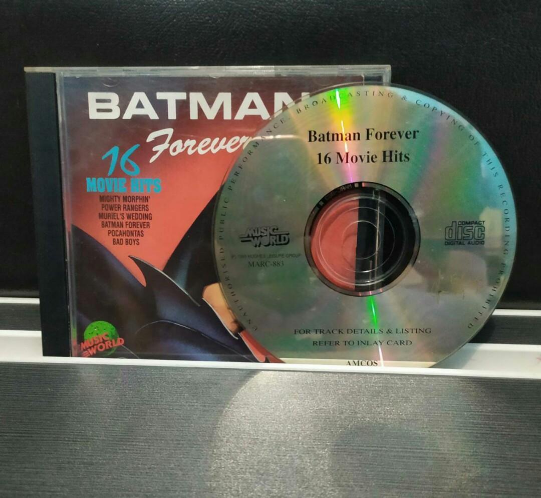 Batman forever  16 movie Hits