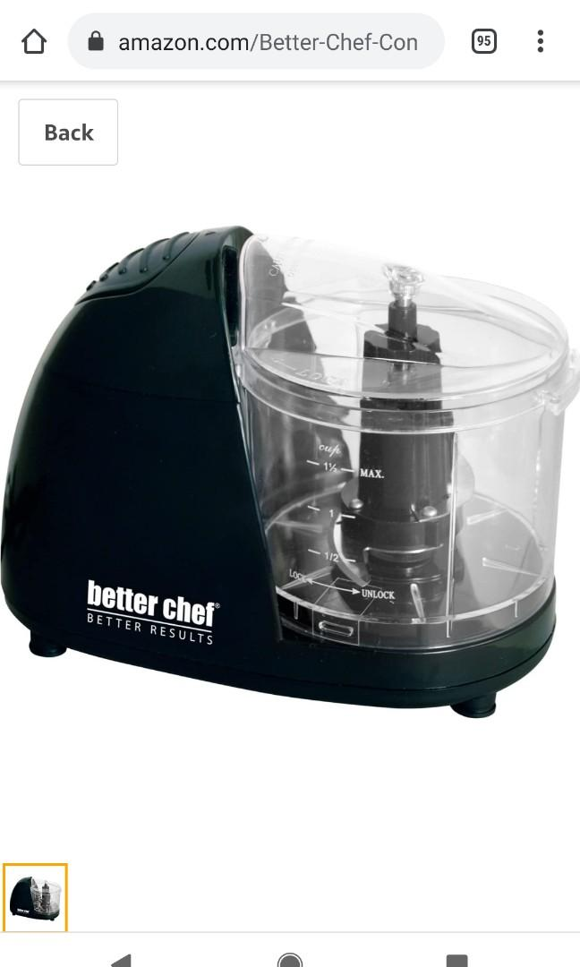 BNIB Compact Food Chopper from Better Chef