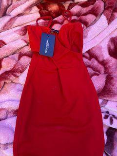 BNWT PLT RED DRESS