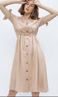 Cotton Ink Midi Dress