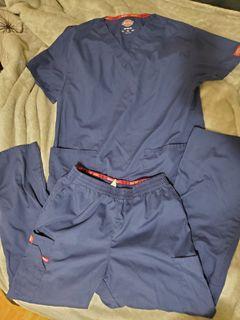 Dickies Navy Blue Scrub Set size Medium