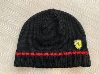 Ferrari x puma 聯名毛帽 黑色