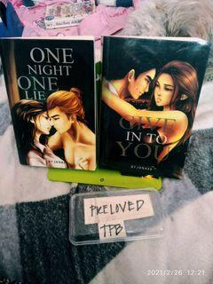 Good Lips Series (GLS) - One Night One Lie (ONOL) + Give In To You (GITY) by Jonaxx