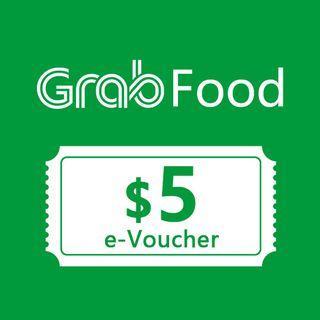 GrabFood $5 Voucher Code