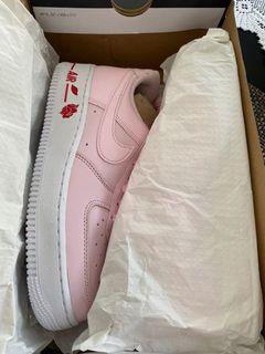 Pink foam Air Force 1