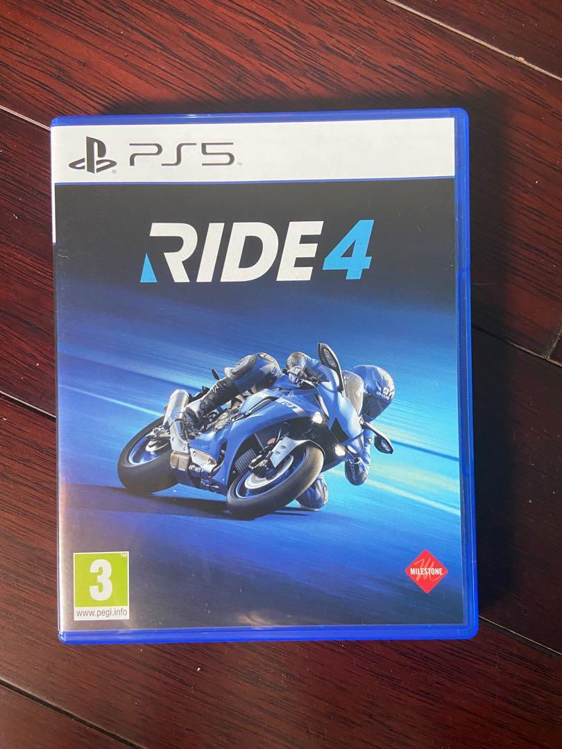 RIDE 4 PS5 (BD)