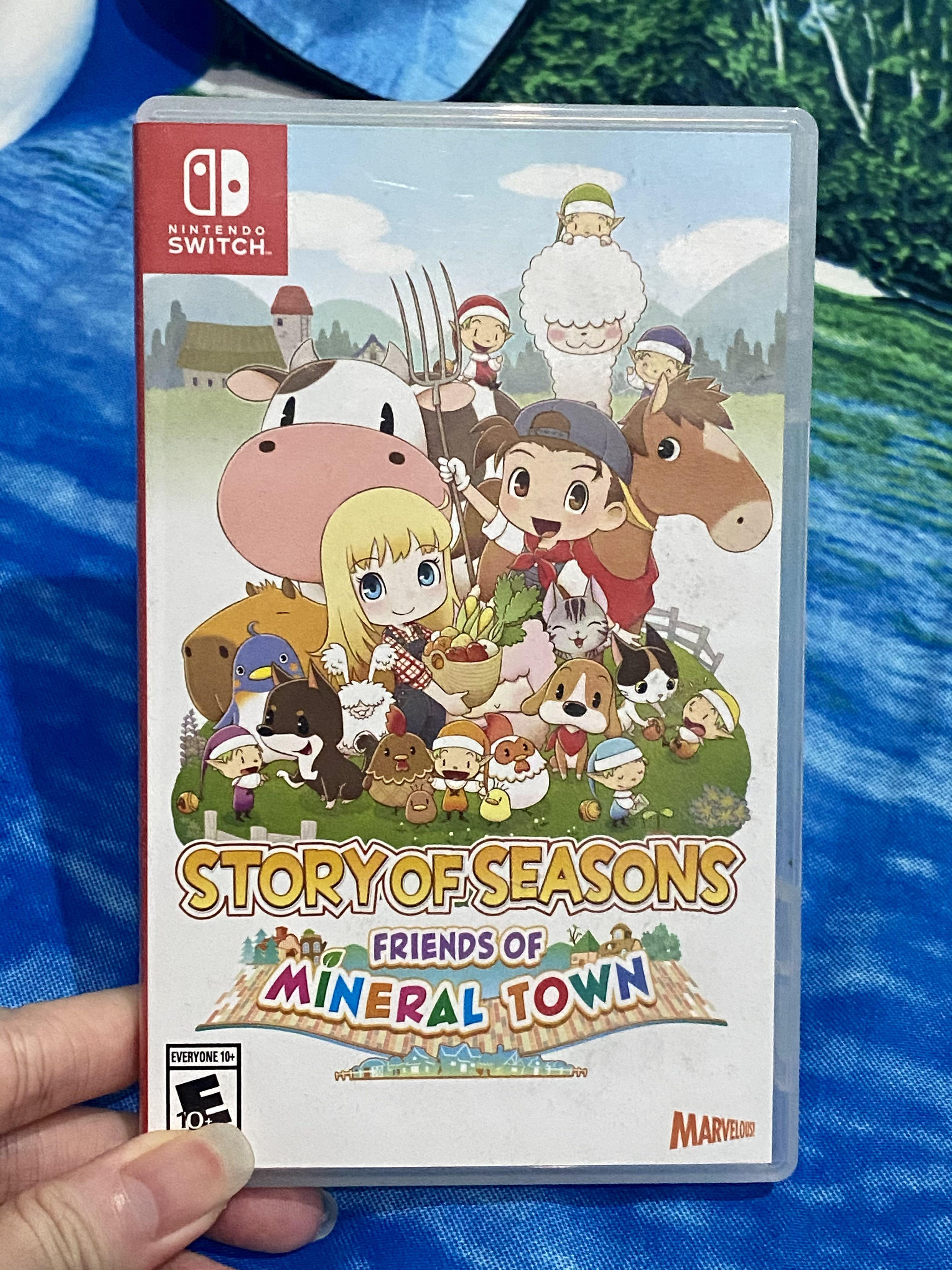 Switch Story of Seasons: Friends of Mineral Town (USA/English)