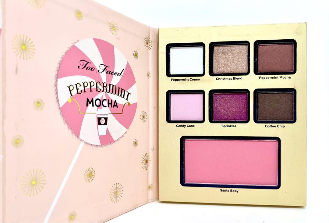 Too Faced ✨Limited Edition✨ Grande Hotel Café Peppermint Mocha Palette