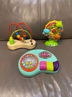 Vtech b. Toys hape 嬰兒玩具