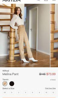 WILFRED MELINA PANT (SUEDE)