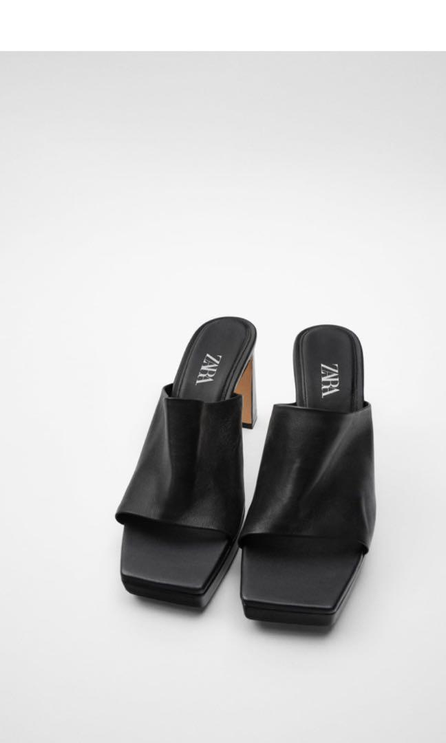 Zara Platform Mules