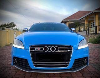 Audi Tts sambung bayar