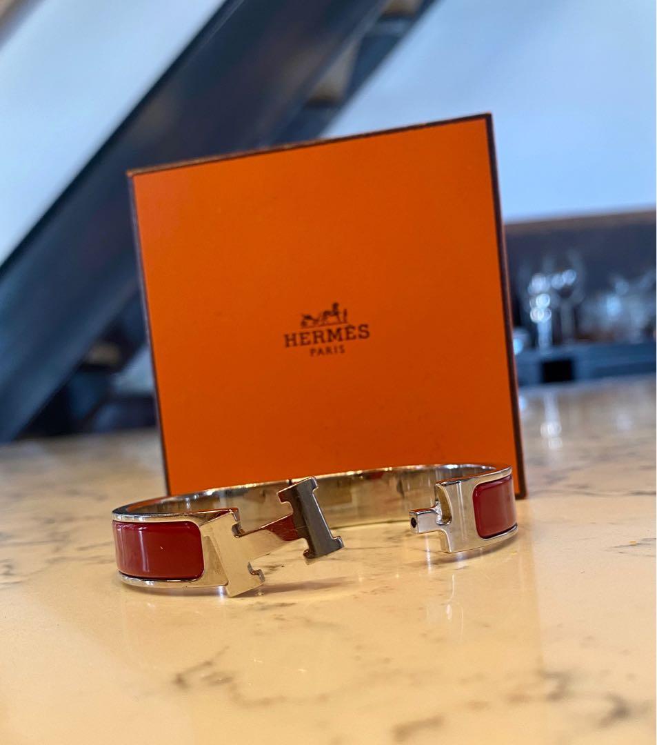 Authentic Hermès Clic H Bracelet