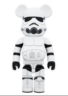 Bearbrick Storm Trooper 1000% 1st Gen 第一代 白兵 Star Wars