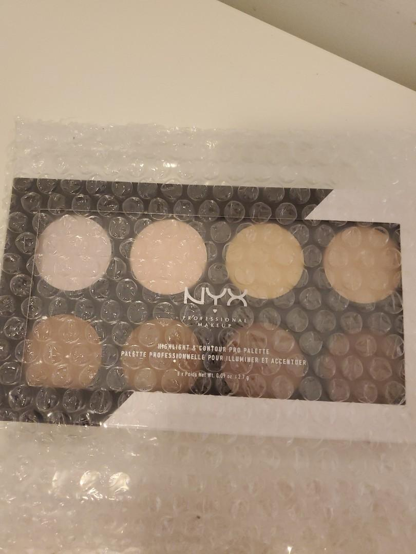 BRAND NEW NYX Highlight and Contour Pro Palette (8 colours)