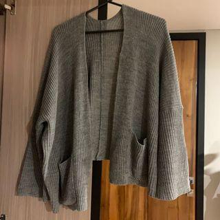 Cardigan Knit Oversized