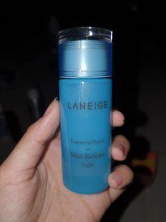 Laneige essential power skin refiner light authentic original