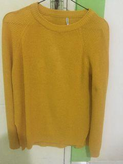 Mustard Sweater Colorbox