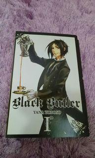 Original Black Butler Eng Manga