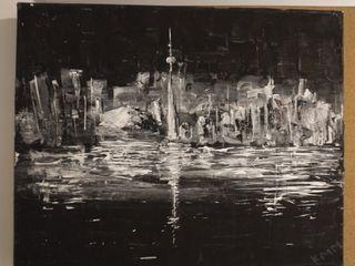 Painting of Toronto