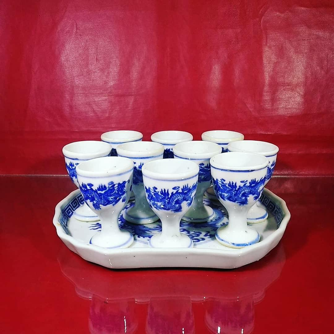 Pajangan Keramik gelas loki