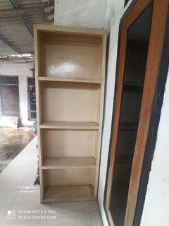 Rak kayu lemari kayu besar