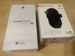 (Sealed) Huawei P40 Pro with Wireless Car Charger -  8GB + 256GB (Deep Sea Blue)