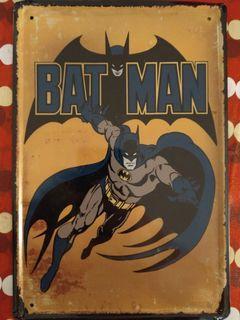 Vintage Batman Metal Decal