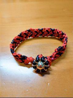 編織愛心手鍊❤️🖤