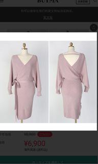 韓版針織洋裝