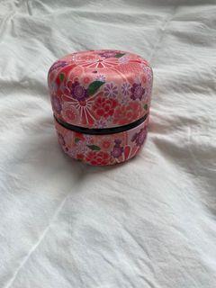 日本帶回 密封茶罐