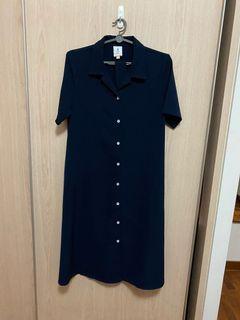 AFA Button Down Midi Dress
