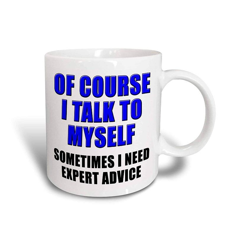Allanewer cup I talk to myself (Limited Stocks)