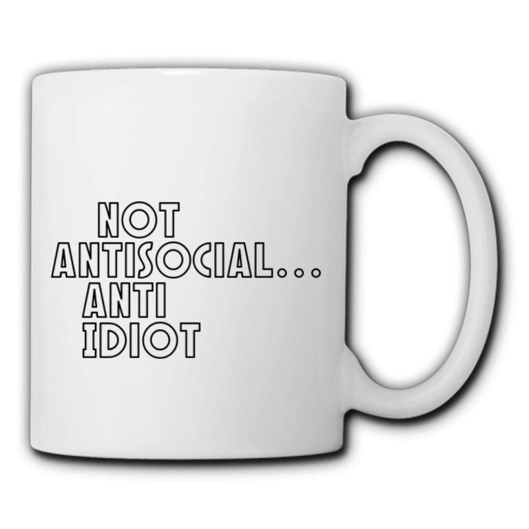 Alonsoewer cup Not antisocial (Limited Stocks)