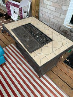BBQ patio table