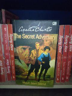 #bersihmaret novel agatha christie the secret adversary