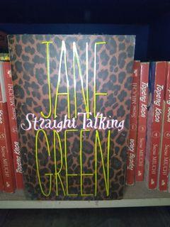 #bersihmaret novel jane green straight talking