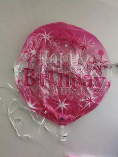 Birthday decors banners ballon