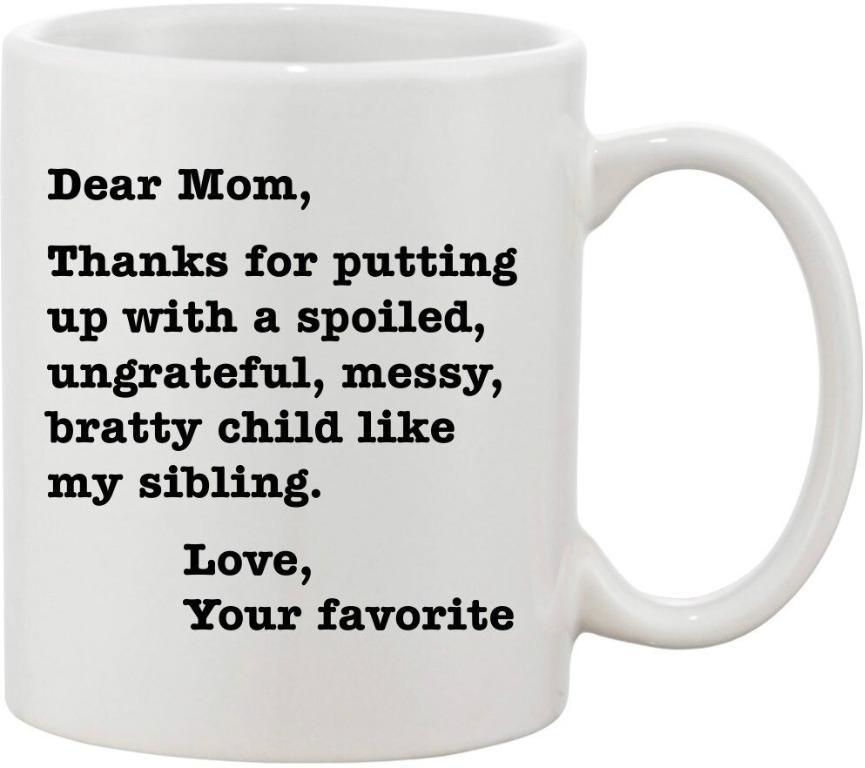 Breckenewer cup Dear mom thanks (Limited Stocks)