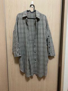 Checkered Long Shirt