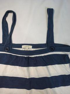 Colorbox top navy white