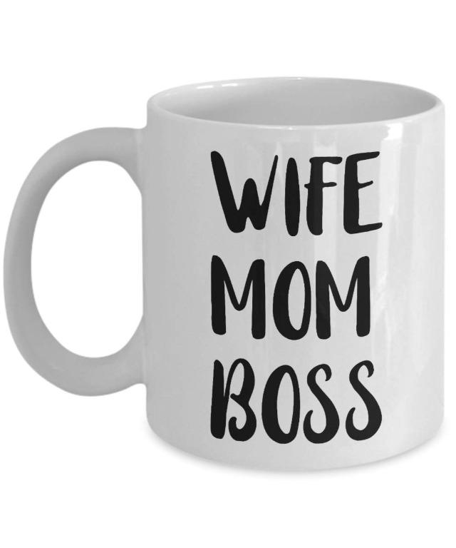 Demetriusewer cup wife mom boss  (Limited Stocks)