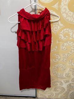 Dress merah Fame