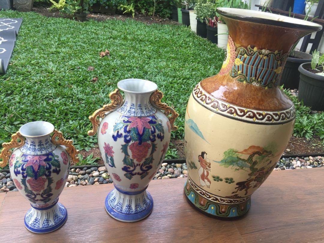 Guci Keramik, guci vas bunga